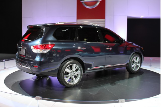 2013 Nissan Pathfinder Live Photos: 2012 Detroit Auto Show, Gallery 1