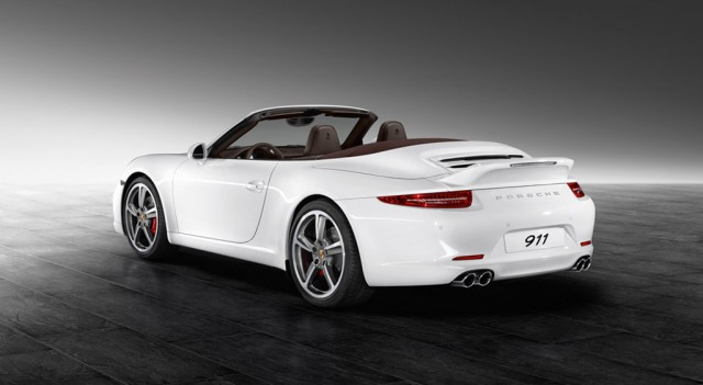 2013 Porsche 911 Carrera S Cabriolet equipped with Porsche Exclusive Aerokit #7823156