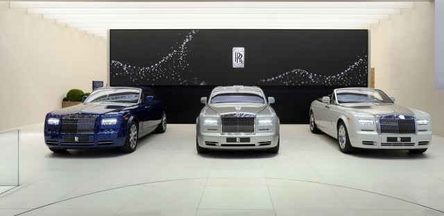 Rolls-Royce Phantom Series II, launched at 2012 Geneva Motor Show