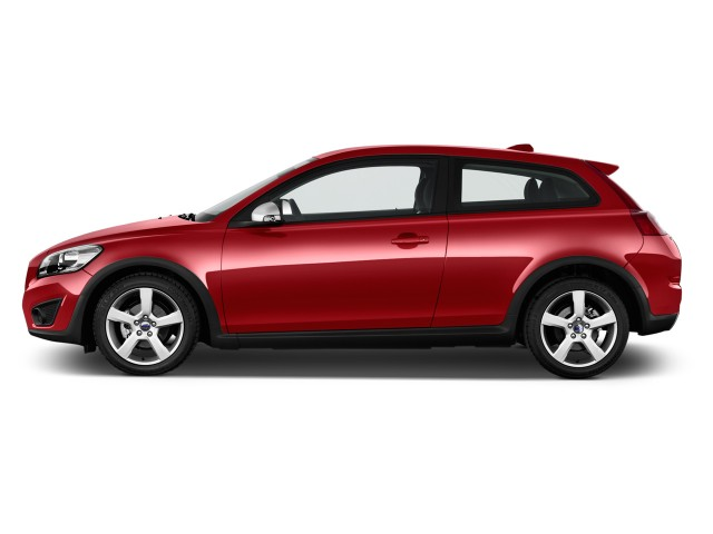 2013 Volvo C30 2-door Coupe Auto R-Design Side Exterior View #8954217