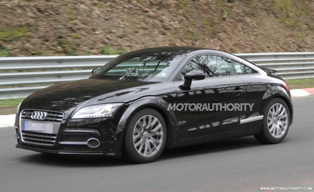 2014 Audi TT test mule spy shots