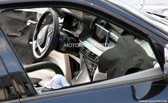 2014 BMW X5 Spy Shots (With Interior)