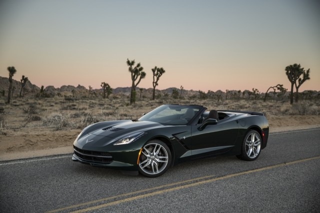 2014 Chevrolet Corvette Stingray Convertible #8539410
