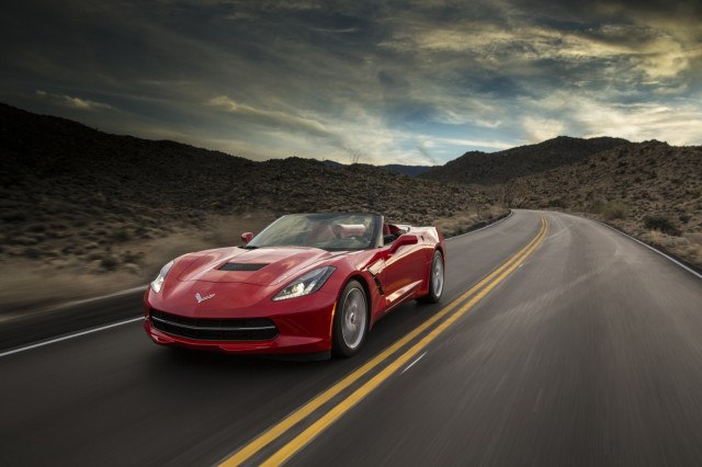 2014 Chevrolet Corvette Stingray Convertible #9536317