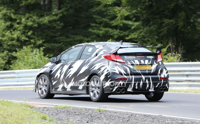 2015 Honda Civic Type R Spy Shots, Gallery 1