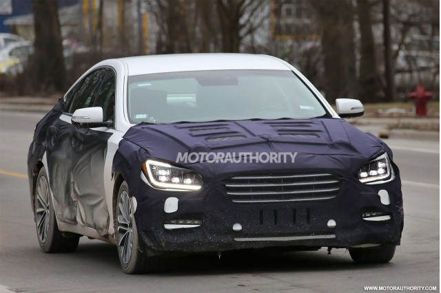 2015 Hyundai Genesis Completely Revealed In New Spy Shots, Gallery 1