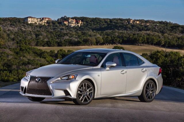 2014 lexus is pricing announced. Black Bedroom Furniture Sets. Home Design Ideas
