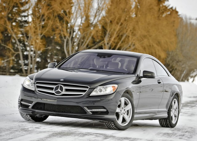 New and used mercedes benz cl class for sale the car for Mercedes benz cl coupe for sale