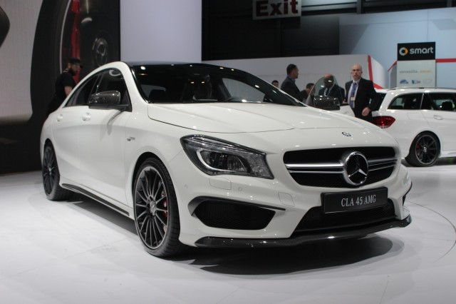 2014 mercedes benz cla45 amg 2013 new york auto show for 2014 mercedes benz cla class cla45 amg