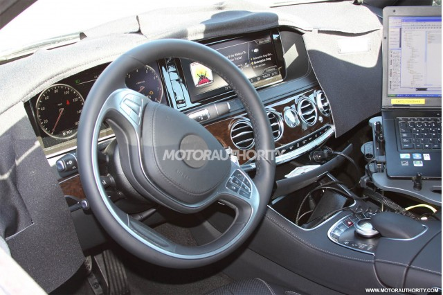 2014 Mercedes-Benz S Class Revealed In New Spy Shots, Gallery 1