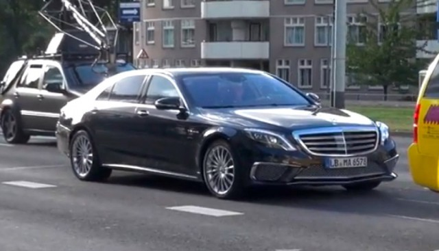 2014 mercedes benz s65 amg spotted during photo shoot