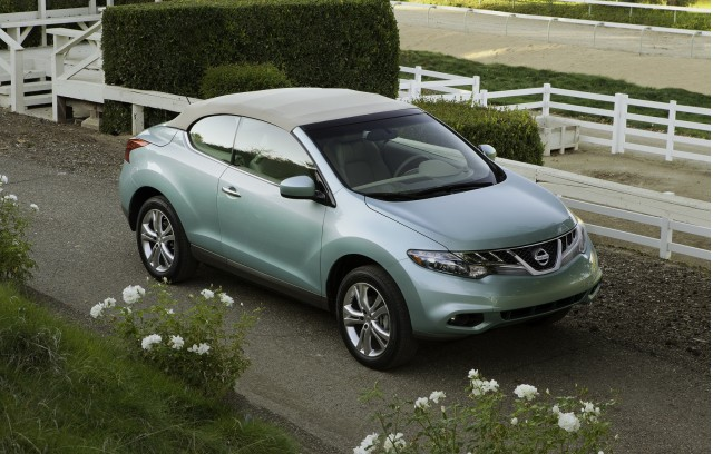 new and used nissan murano crosscabriolet for sale the car connection. Black Bedroom Furniture Sets. Home Design Ideas