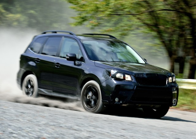 2014 Subaru Forester Preview Drive - pre-production mule, Japan