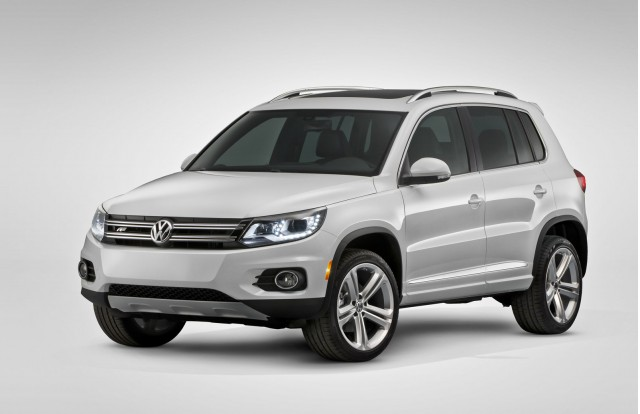 2014 volkswagen tiguan r line detroit auto show preview. Black Bedroom Furniture Sets. Home Design Ideas