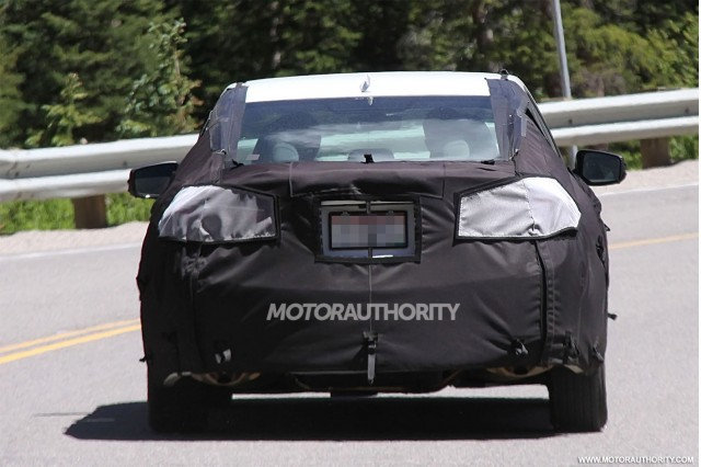 2015 Acura TLX Spy Shots, Gallery 1