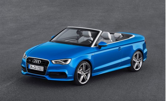 Audi Prices 2015 A3 TDI, A3 Cabriolet, High-Performance S3