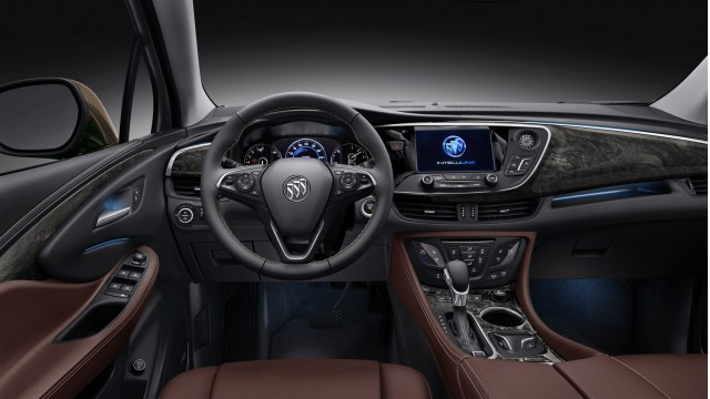 2015 buick envision compact crossover unveiled in china. Black Bedroom Furniture Sets. Home Design Ideas