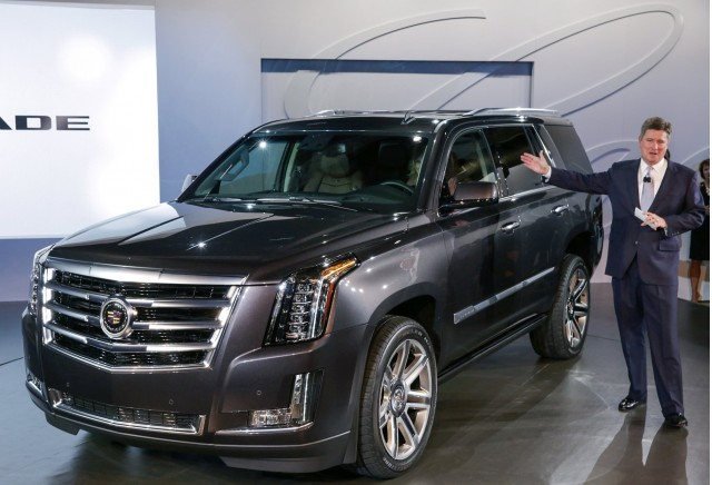 2015 cadillac escalade may still spawn ext pickup and hybrid variants report gallery 1. Black Bedroom Furniture Sets. Home Design Ideas