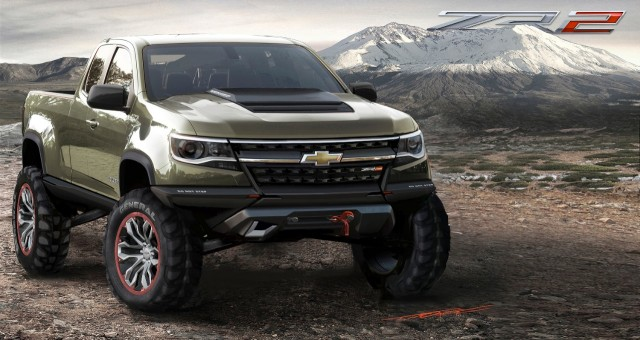Colorado Diesel: Specs And ZR2 Off-Road Concept From 2014 LA Auto Show
