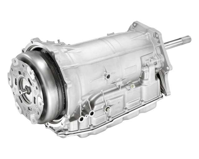 The new Corvette 8-speed transmission