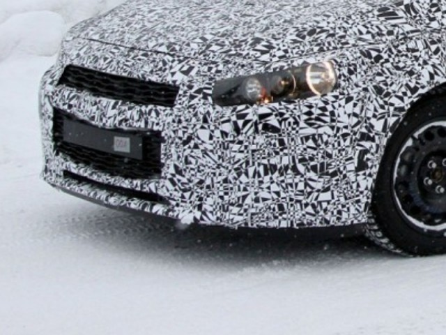 2015 Chevrolet Cruze spotted winter testing [Image courtesy of Motor Authority]