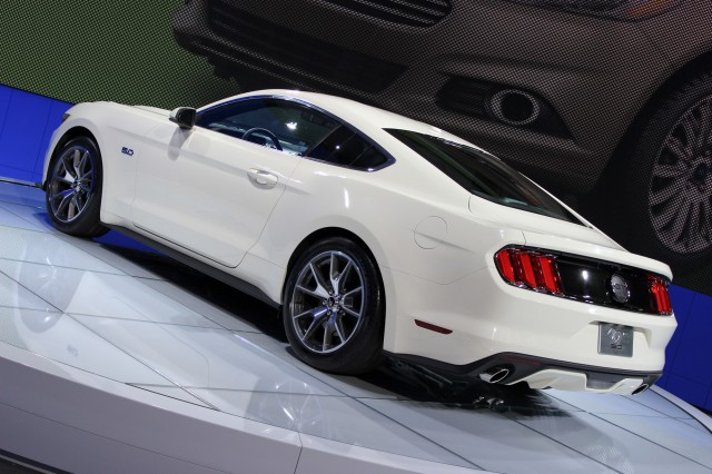 2015 ford mustang 50 year limited edition 2014 new york