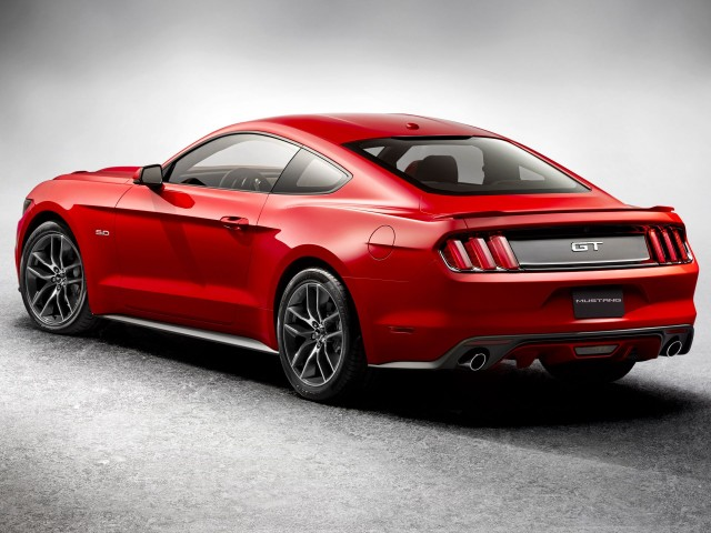 2015 ford mustang revealed with first 4 cylinder since 1993 photos gallery 1 green car reports. Black Bedroom Furniture Sets. Home Design Ideas