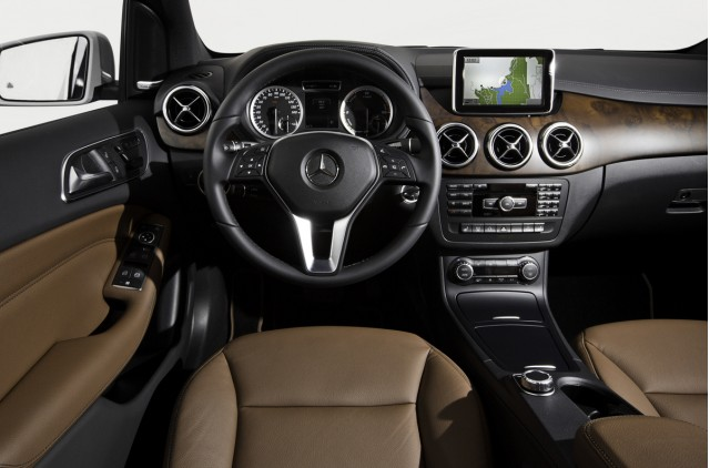 2014 Mercedes B Class Electric Car On Sale In Summer From 41 450