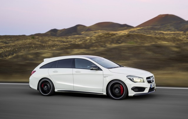 2015 mercedes benz cla45 amg shooting brake. Black Bedroom Furniture Sets. Home Design Ideas