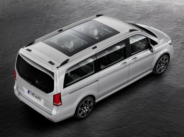 Mercedes benz 39 s v class gets a sporty amg package for V class mercedes benz