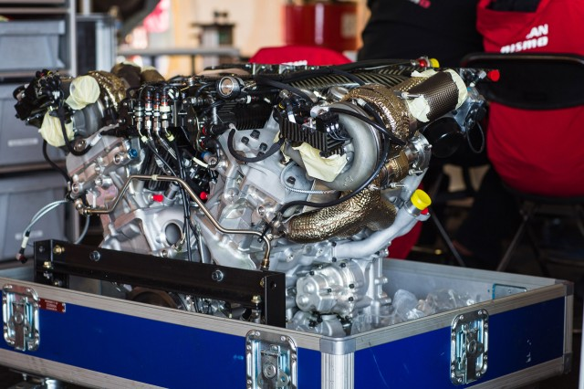 R36 GT-R's Twin-Turbo V-6 Derived From Unit In Nissan Le ...