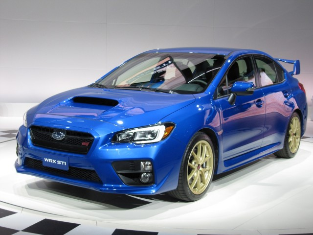 2015 Subaru WRX STI Launch Edition, introduced at 2014 Detroit Auto Show
