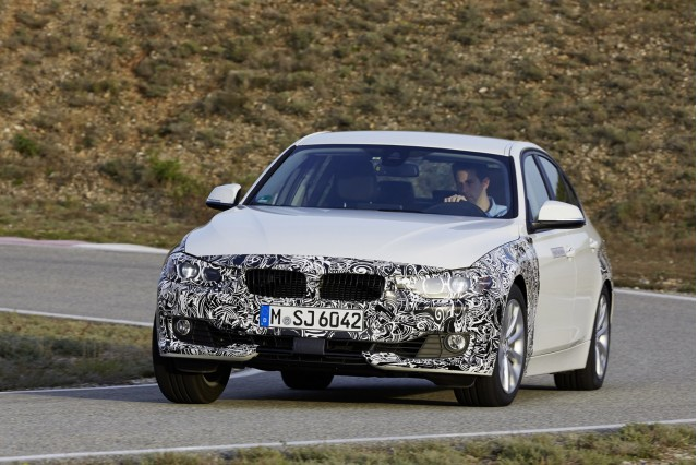 2016 BMW 3-Series eDrive plug-in hybrid prototype