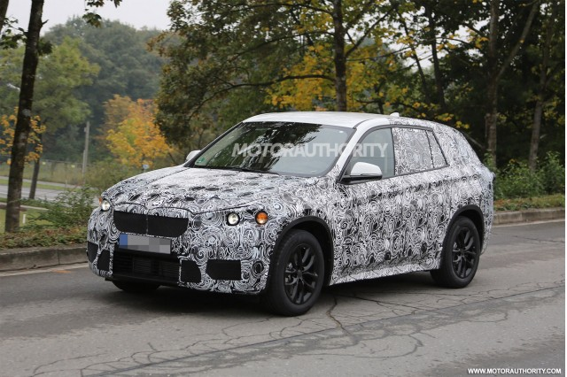 2016 BMW X1 Spy Shots, Gallery 1 - MotorAuthority