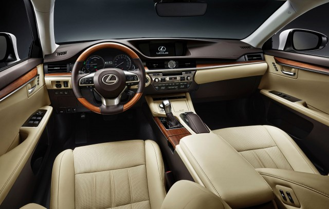 2016 Lexus ES Debuts With New Look At Shanghai Auto Show