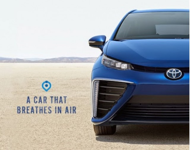 2016 Toyota Mirai A Car That Breathes In Air Posted By