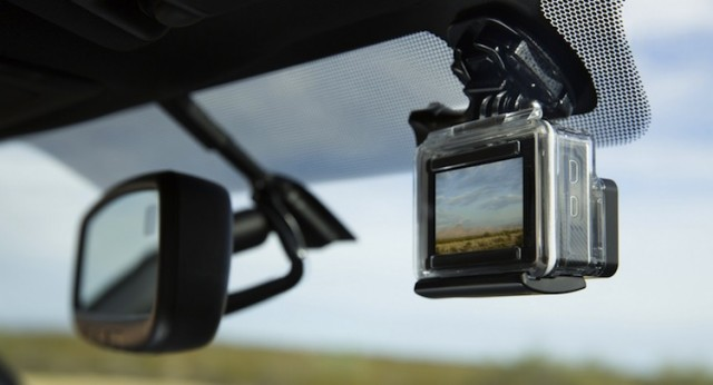 2016 toyota tacoma comes with gopro mount is this the start of a new trend. Black Bedroom Furniture Sets. Home Design Ideas