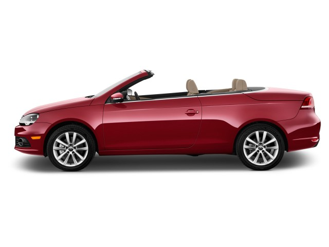 side exterior view 2016 volkswagen eos 2 door. Black Bedroom Furniture Sets. Home Design Ideas