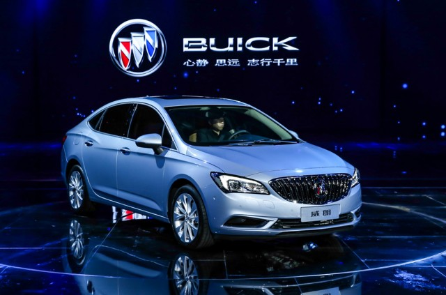 2017 buick verano debuts at 2015 shanghai auto show gallery 1 motorauthority. Black Bedroom Furniture Sets. Home Design Ideas