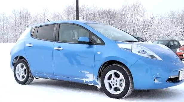 nissan leaf chevy volt range loss in winter new data from canada. Black Bedroom Furniture Sets. Home Design Ideas