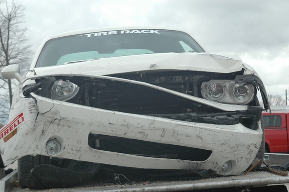 Vanishing Point Dodge Challenger Wrecks at Road America Page 2