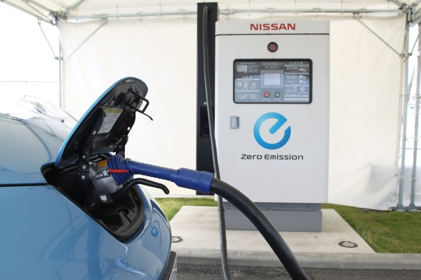 Nissan's 50Kw Charger for the 2011 Nissan Leaf.