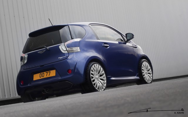 What Do You Guys Think About This Modified Aston Martin Cygnet By Kahn Design