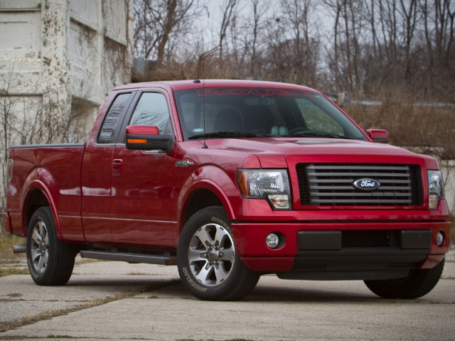 roush announces performance upgrades for ford f 150 pickups. Black Bedroom Furniture Sets. Home Design Ideas