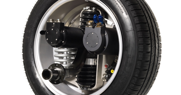 Active Wheel system is still years away from commercialization says Michelin