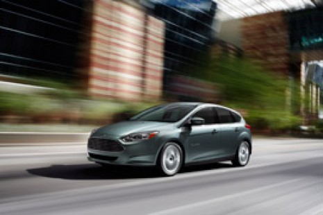 All-new 2012 Ford Focus Electric