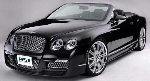 Asi Reveals New Bodykit For Bentley Drop Top