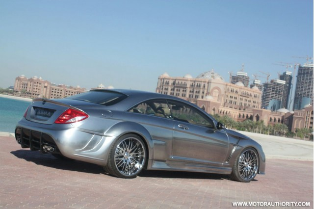 phantasma cl 65 amg tuning gone wrong gallery 1 motorauthority. Black Bedroom Furniture Sets. Home Design Ideas
