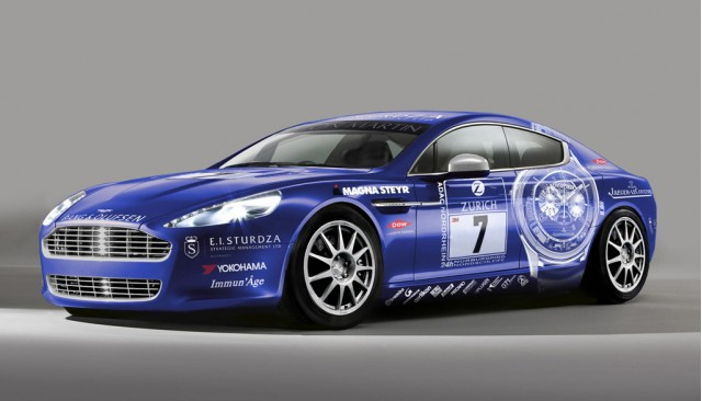 Aston Martin Rapide Nurburgring 24 Hours race car #7097607
