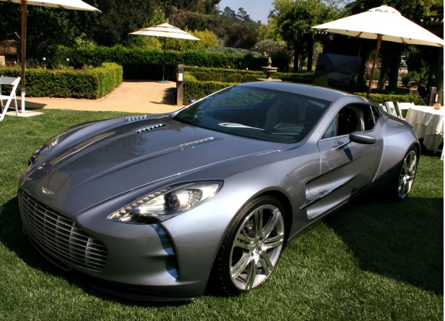 Live from Pebble Beach: 2010 Aston Martin One-77